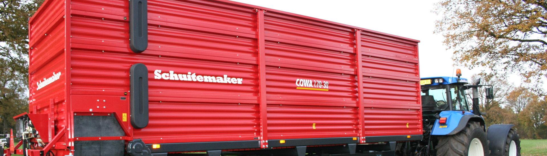 Schuitemaker compostwagen