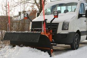 Schuitemaker Villeton LMT 2000 sneeuwploeg, voor fietspaden