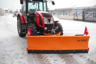 Schuitemaker stalen sneeuwploeg, voor fietspaden, voor de tractor