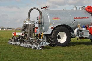 Schuitemaker Perfekta 120 gegalvaniseerde vacuumtank