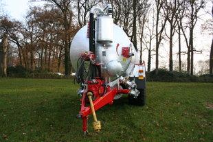Schuitemaker Perfekta 155 vacuumpomptankwagen