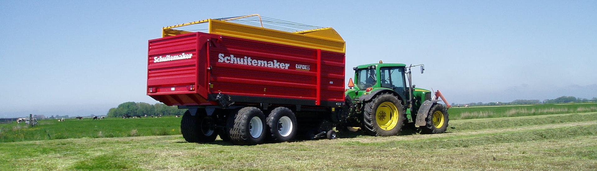 Schuitemaker Rapide opraapwagen