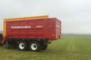 Schuitemaker Rapide 580 opraapwagen