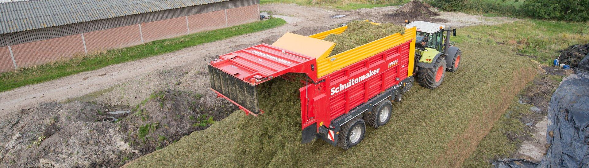 Schuitemaker Rapide feedingwagon