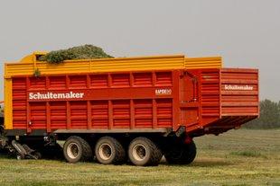 Schuitemaker Rapide 840 loaderwagon