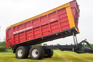 Schuitemaker Siwa 720 kiepend silagewagen