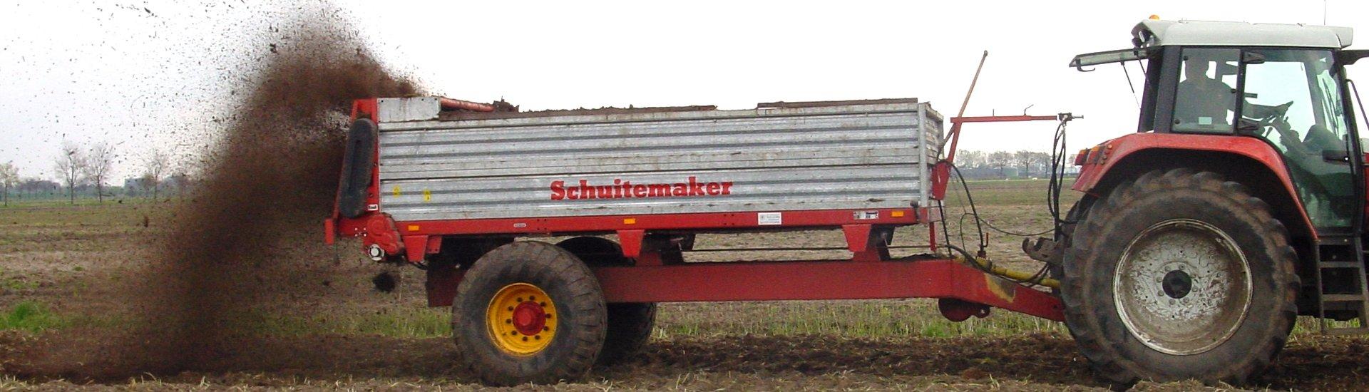 Schuitemaker Stalldungstreuer