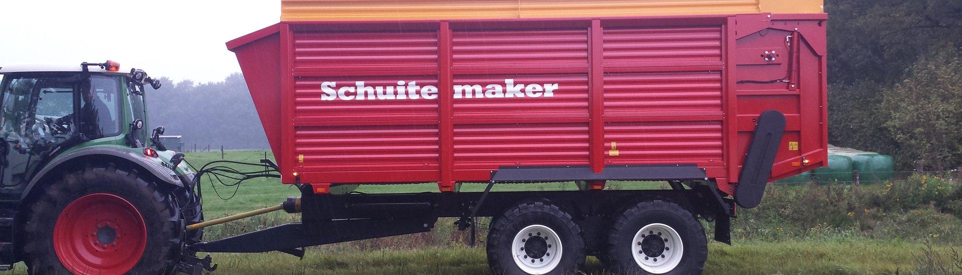 Schuitemaker maize wagon