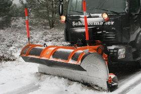 Hoofdrijbaan-sneeuwploeg