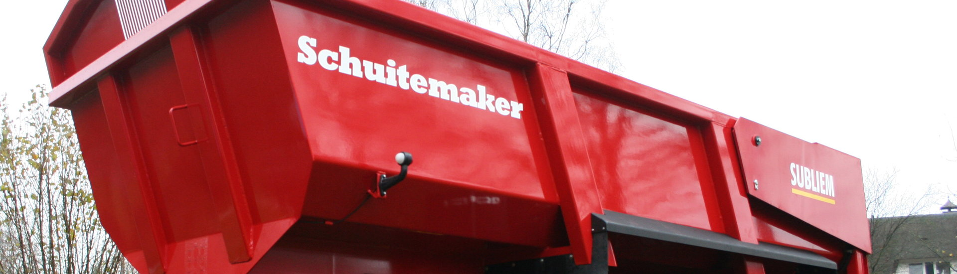 Schuitemaker Subliem transport tipper