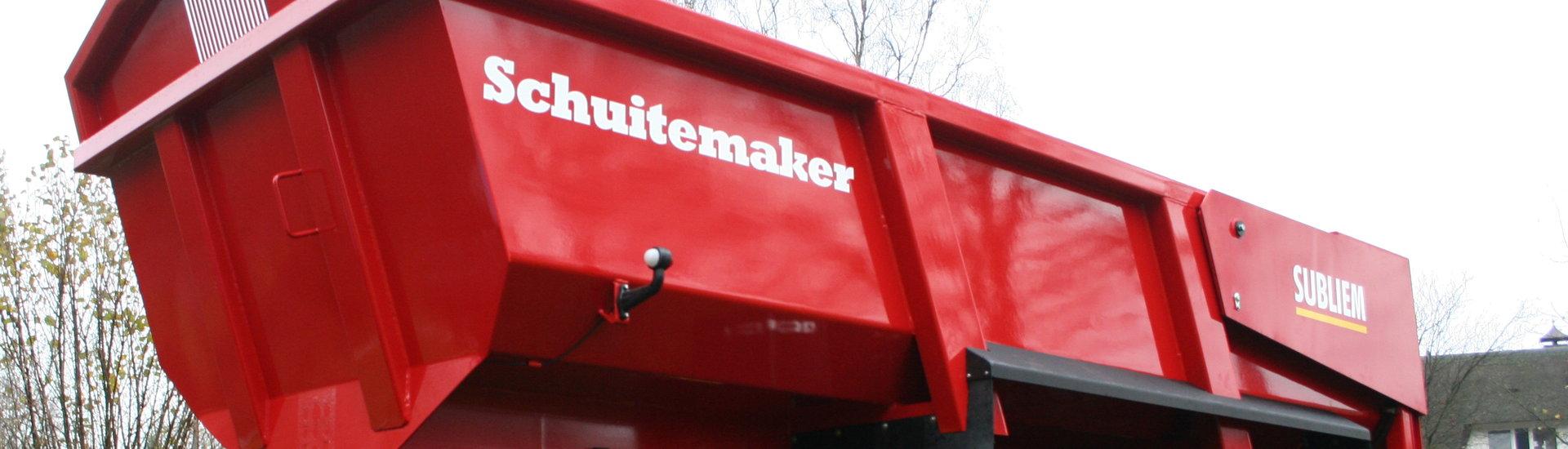 Schuitemaker Subliem Schuttkipper