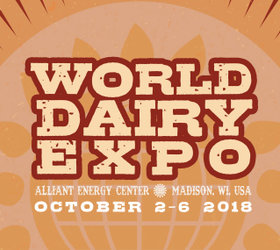 World Dairy Expo, Madison, USA, October 2-6, 2018